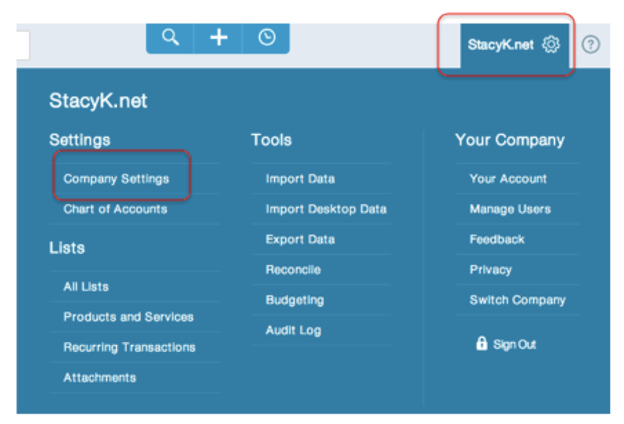 QuickBooks Online – Changes to Company Settings Interface | The QB ...